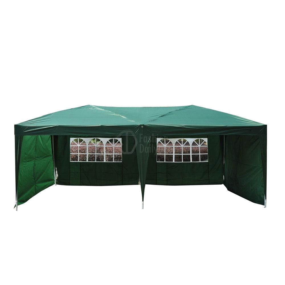 Pop Up Sidewalls : Patio gazebo ez pop up party tent wedding canopy
