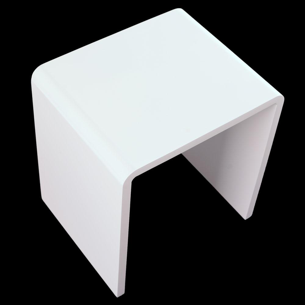 Modern Design High Gloss White White Glass Nest Of 3: Modern Nest Of 3 Tables White High Gloss Living Room Side