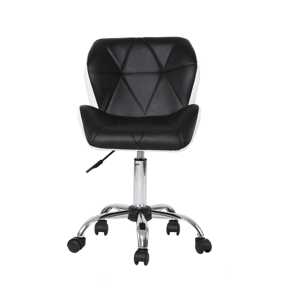 Bar stools leather adjustable swivel rolling spa salon for 2 chairs tattoo