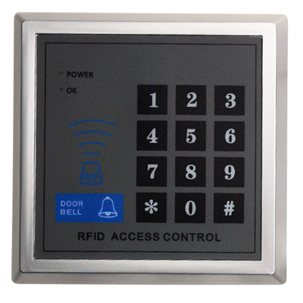 X1 rfid proximity entry door lock access control system for Door entry fobs