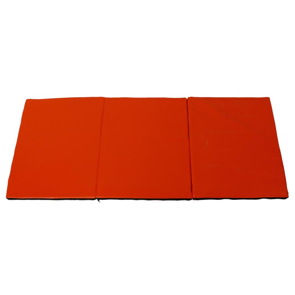 Foldable Gym Mats Uk: Tri Folding Exercise Thick Mat Training Workout Padded Non
