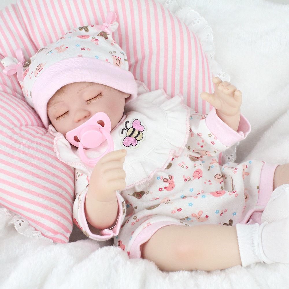 Realistic Reborn Baby Doll 16 Quot Lifelike Vinyl Newborn